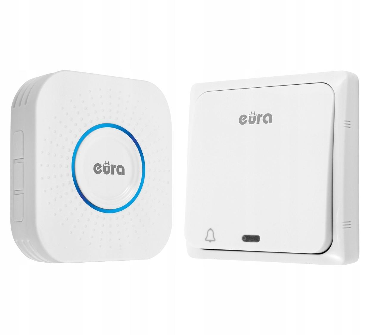 Беспроводной водонепроницаемый дверной звонок EKO без батарейки