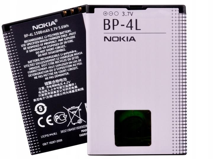 Oryginalna Bateria Nokia BP-4L E52 E90 N97 E55 E63