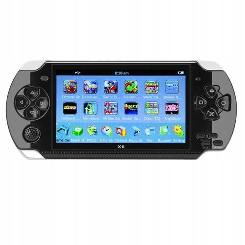 Item Portable CONSOLE RETRO screen 4.3 8G - 1000 GAMES