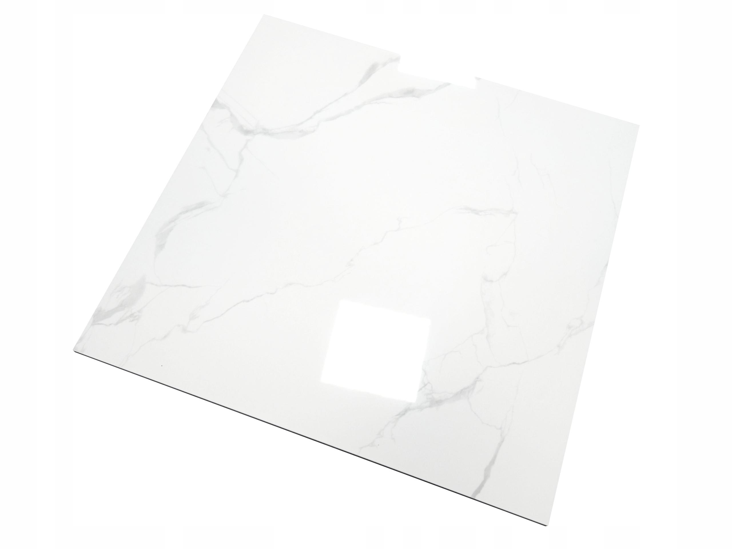 ГРЭС имитация белого полированного мрамора 60х60 ХИТ