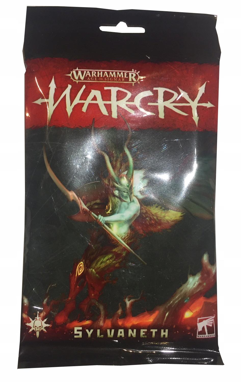 Warcry Sylvateth Card Pack Predobjednať nové