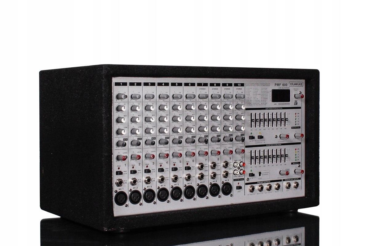 PowerMikser PMF-600 DSP 2x400W / RMS / 4OHM