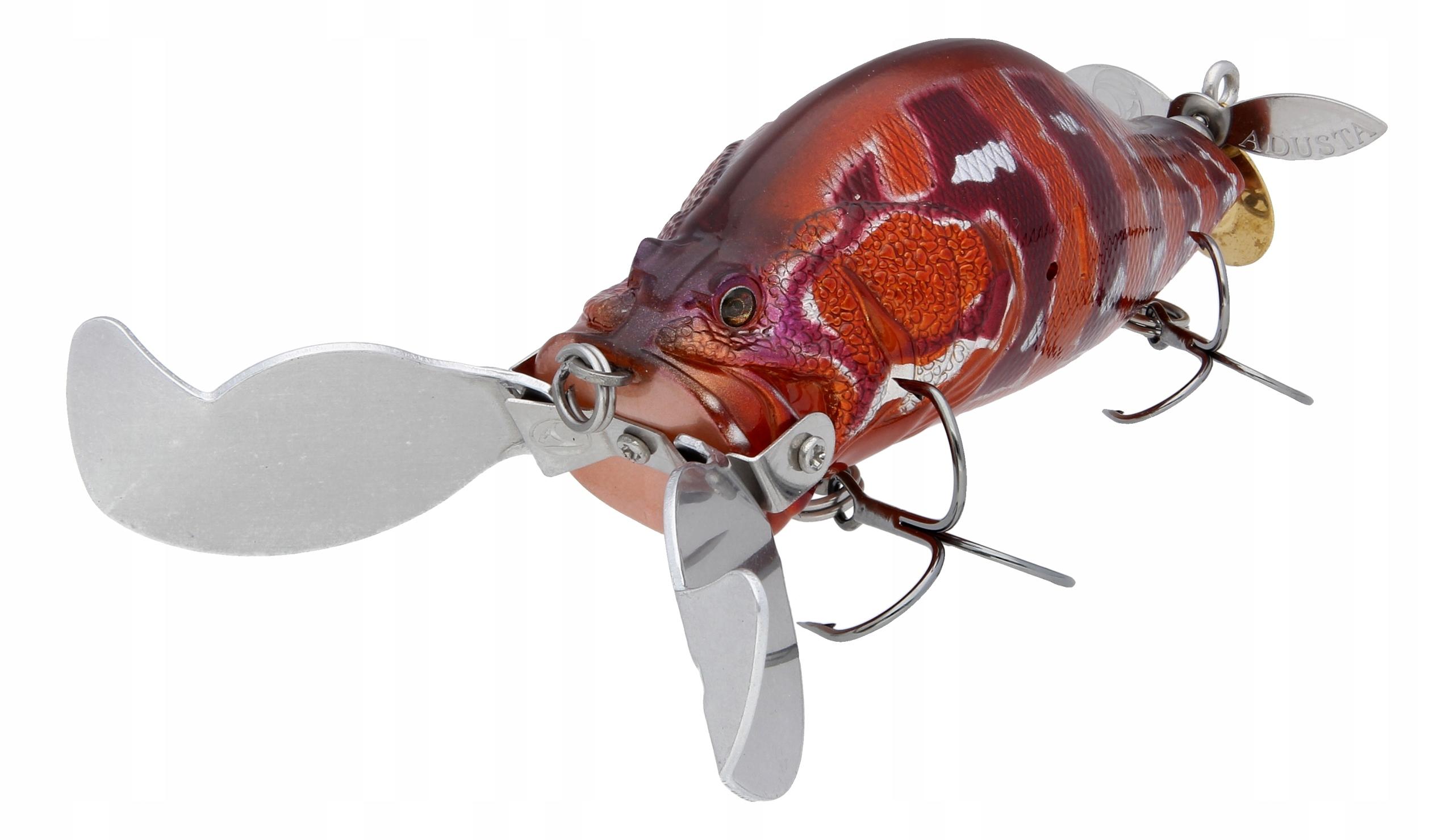 Adusta zacrawl heart бластер 9cm 33g 015 akahata