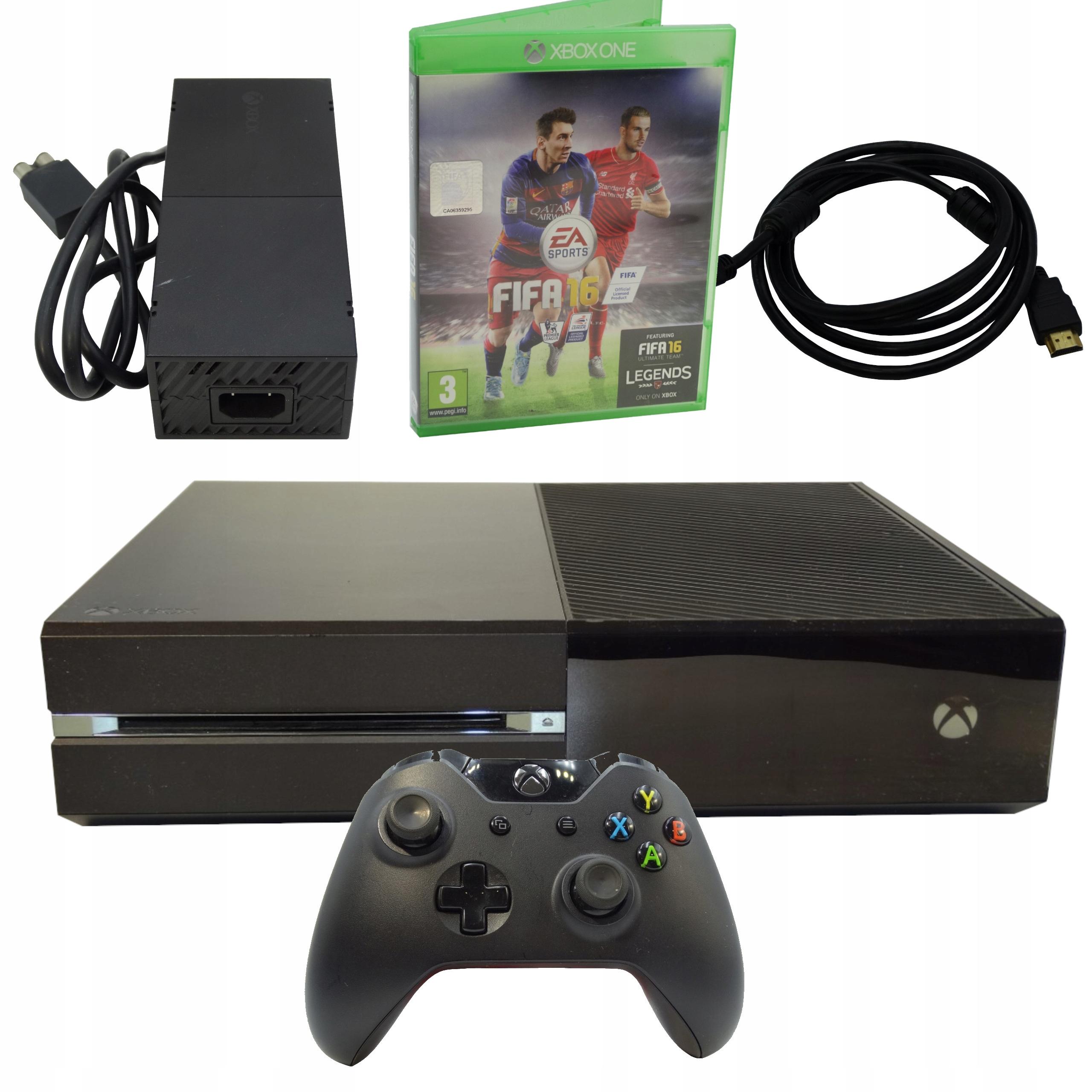 Item XBOX ONE CONSOLE 500GB + PAD FULL SET + GAME