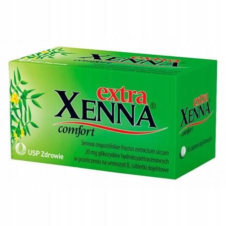 Купить Xenna extra comfort 20 мг, 45 драже на Otpravka - цены и фото - доставка из Польши и стран Европы в Украину.