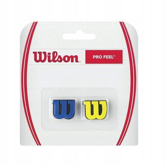 Купить ВИБРОГАСИТЕЛЬ WILSON PRO FEEL DAMPENER BL/YL 2 ШТ. на Otpravka - цены и фото - доставка из Польши и стран Европы в Украину.