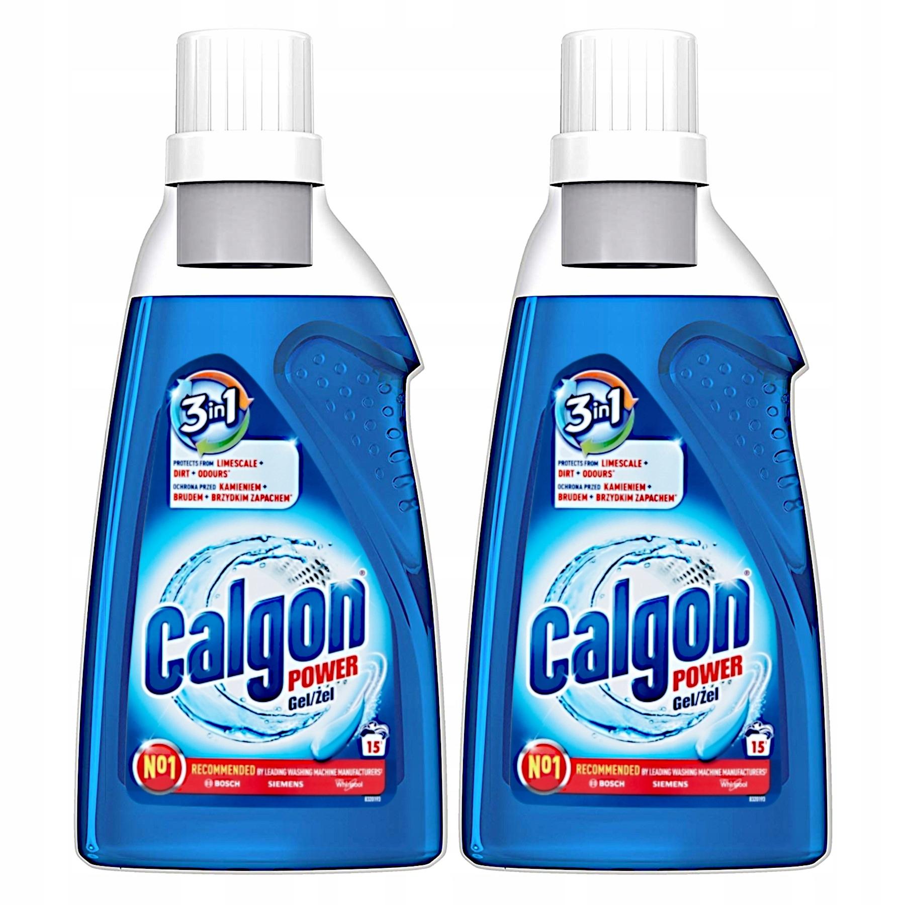 Calgon 2в1 Средство для удаления накипи Стиральной машины 2 х 750 = 1,5 Л