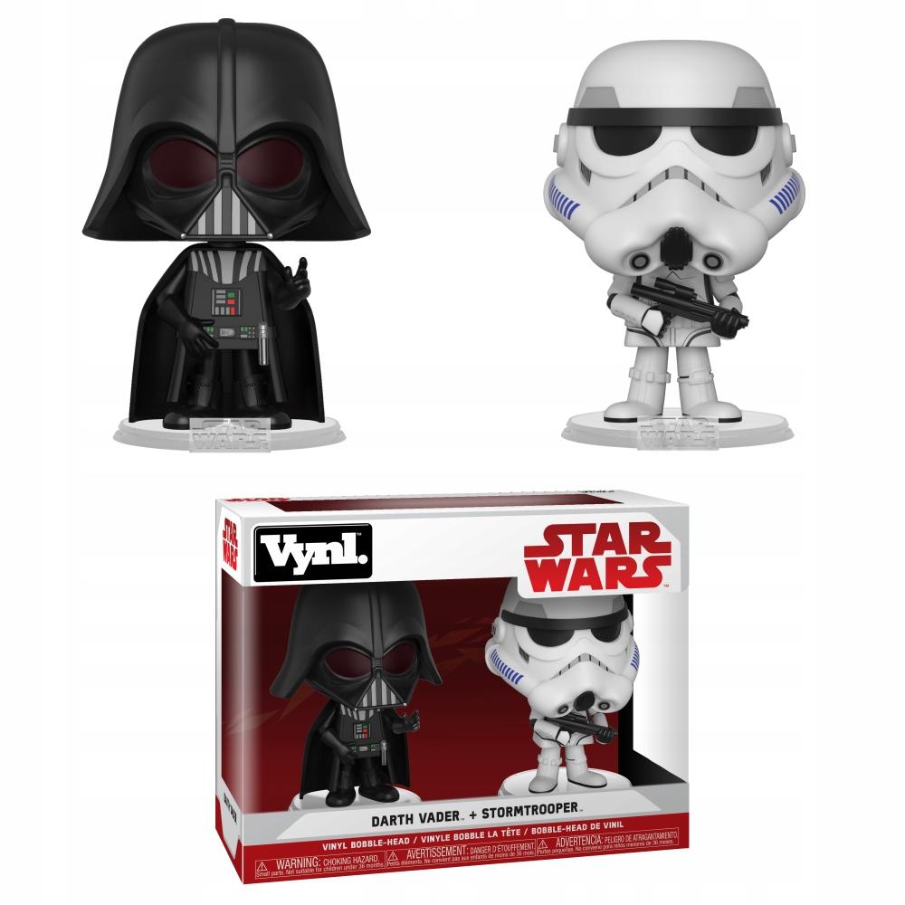 Funko POP! Hviezdne vojny Darth Vader a Stormtrooper