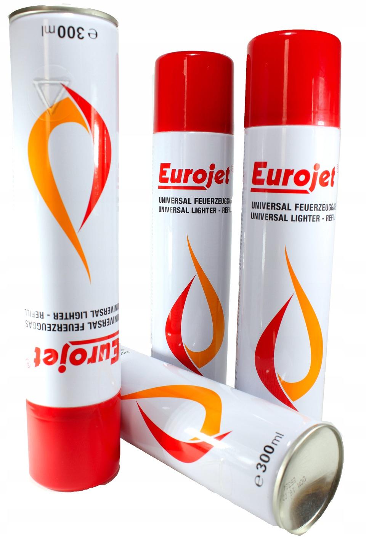 Газ для зажигалки Eurojet 300 мл
