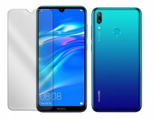 Etui Przezroczyste do Huawei Y7 2019 Clear + Szkło