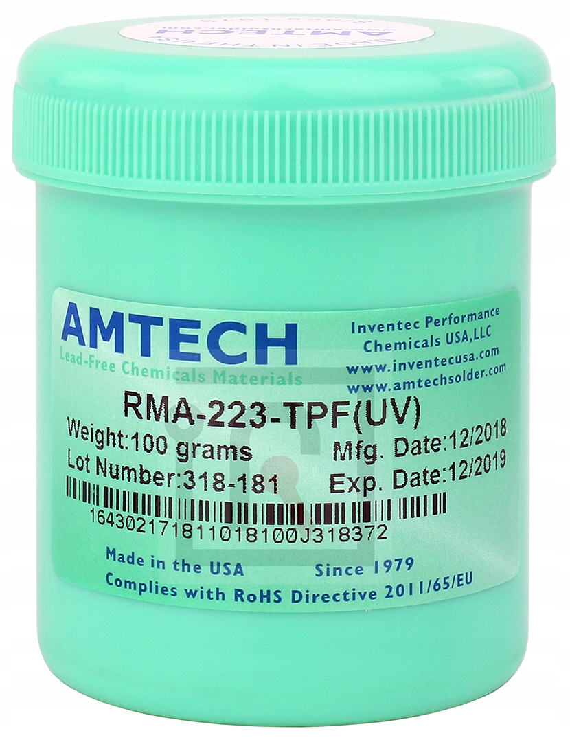 FLUX TOPNIK BGA SMD AMTECH RMA 223 TPF UV  100g