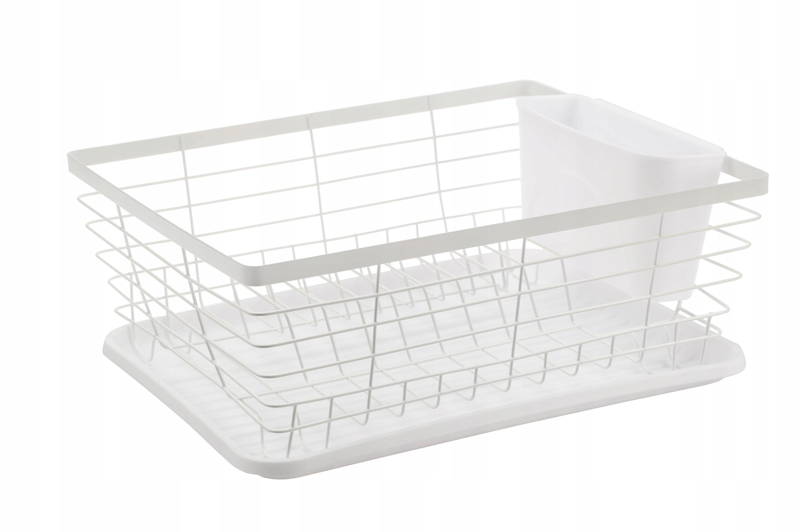 Сушилка для посуды металлическая опора, стоящая сушка белая