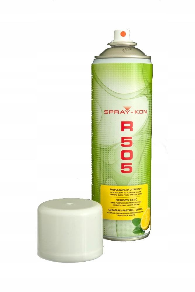 R505 Спрей клей растворитель очищает удаления