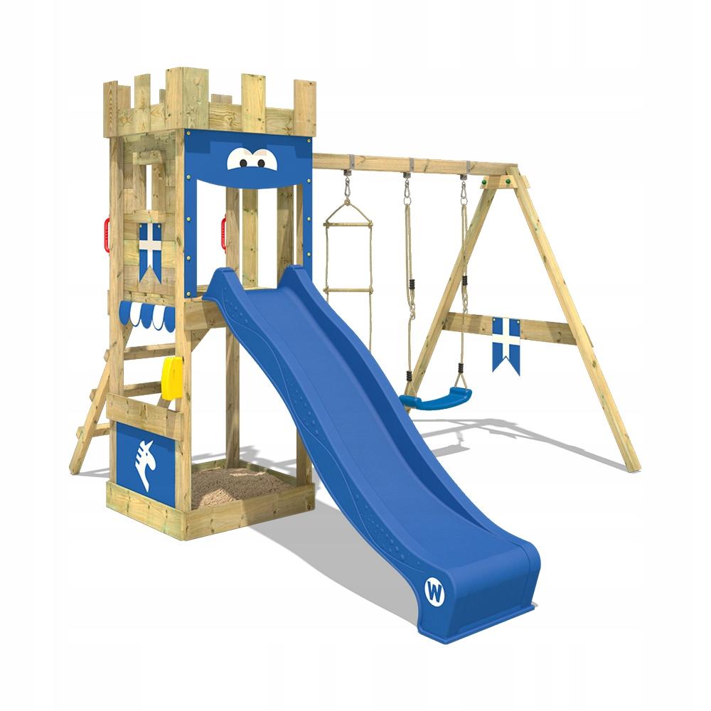 WICKEY KnightFlyer drewniany plac zabaw dla dzieci