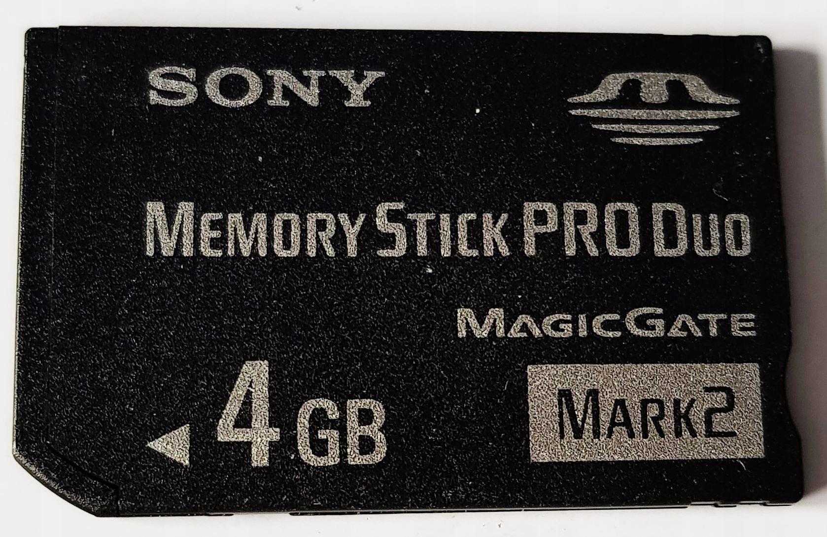 4 GB Sony Pamäťová karta Originál