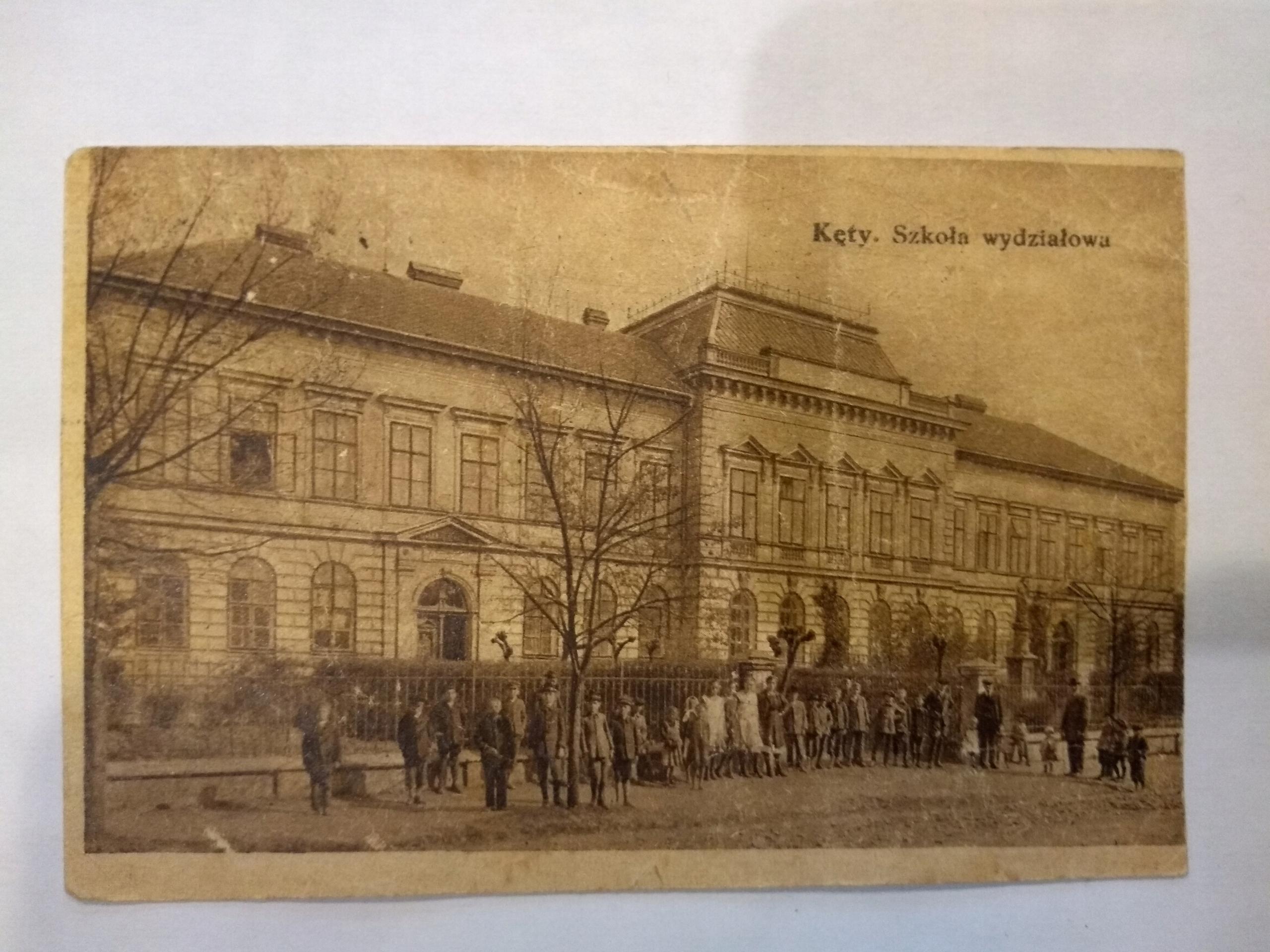 Kęty školské oddelenie 1923 pohľadnice