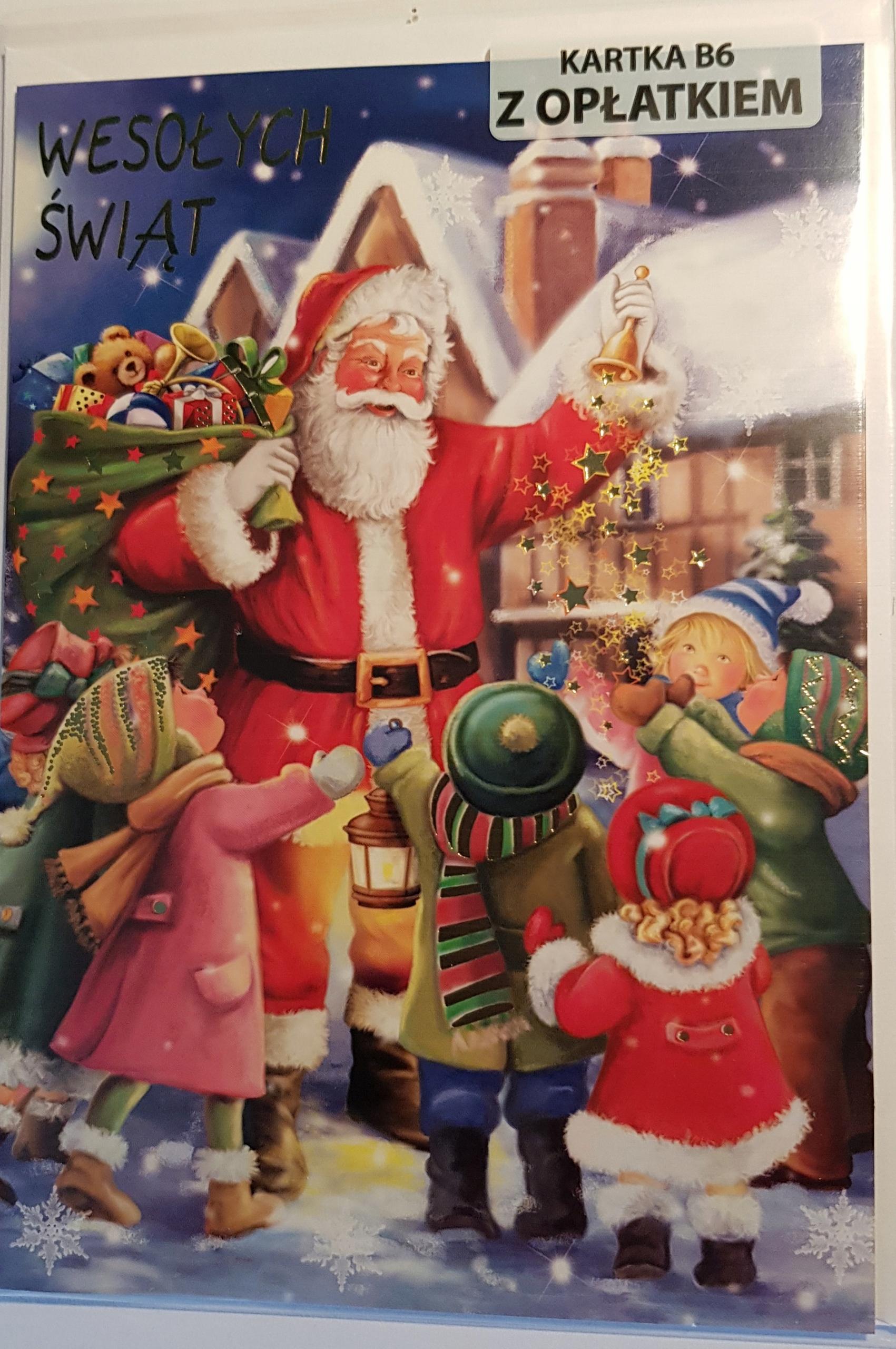 Karty s vianočnými oblátkami Vianoce