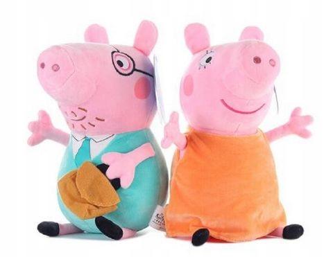 SÚPRAVA HRY MASCOT PIG PEPPA MAMI A DADE 32CM