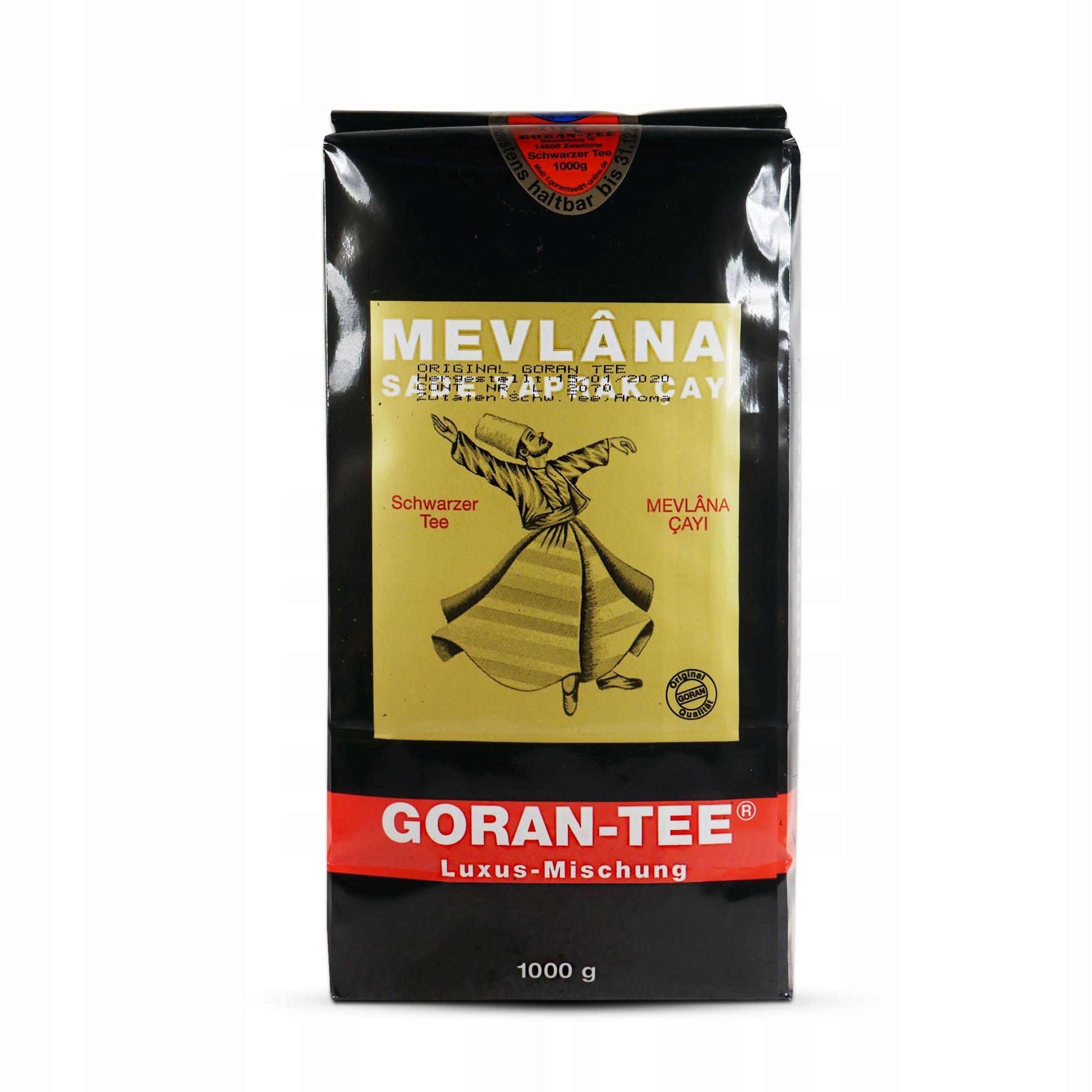 Black tea Leaf Mevlana Goran 1 kg Líry