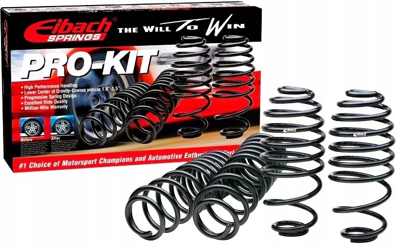 vw passat b6 cc eibach pro-kit пружины спортивные