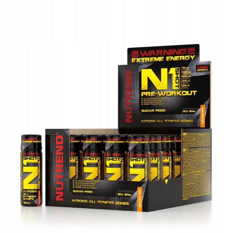 NUTREND N1 VÝSTREL 20-60 ml - Mega-čerpadlo