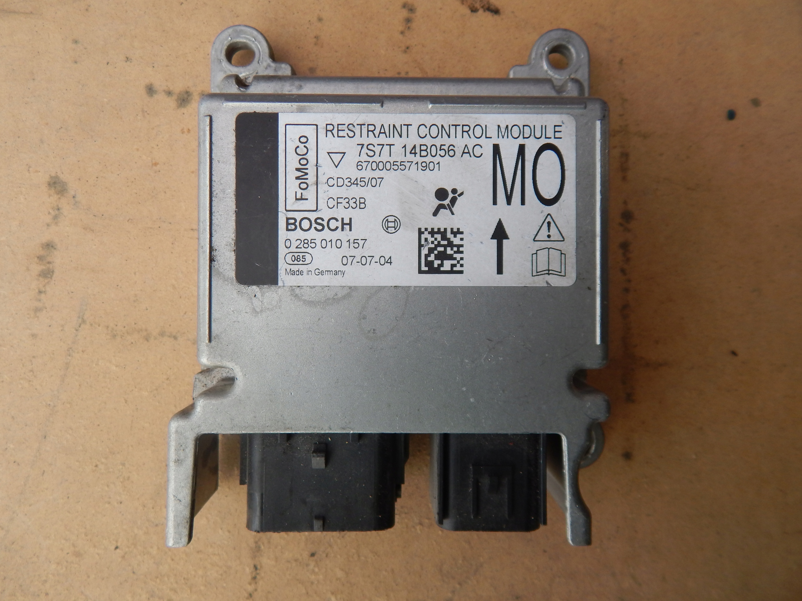 модуль сенсор airbag подушек ford mondeo mk4