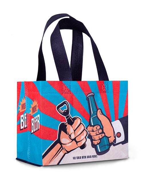 Piwo torba 6PAK prezentowa z nadrukiem Fabor