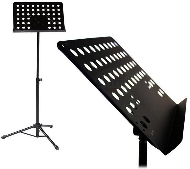 Item MUSIC STAND FOR MUSIC / TRIPOD ON THE OPENWORK SHEET MUSIC/ORCHESTRAL