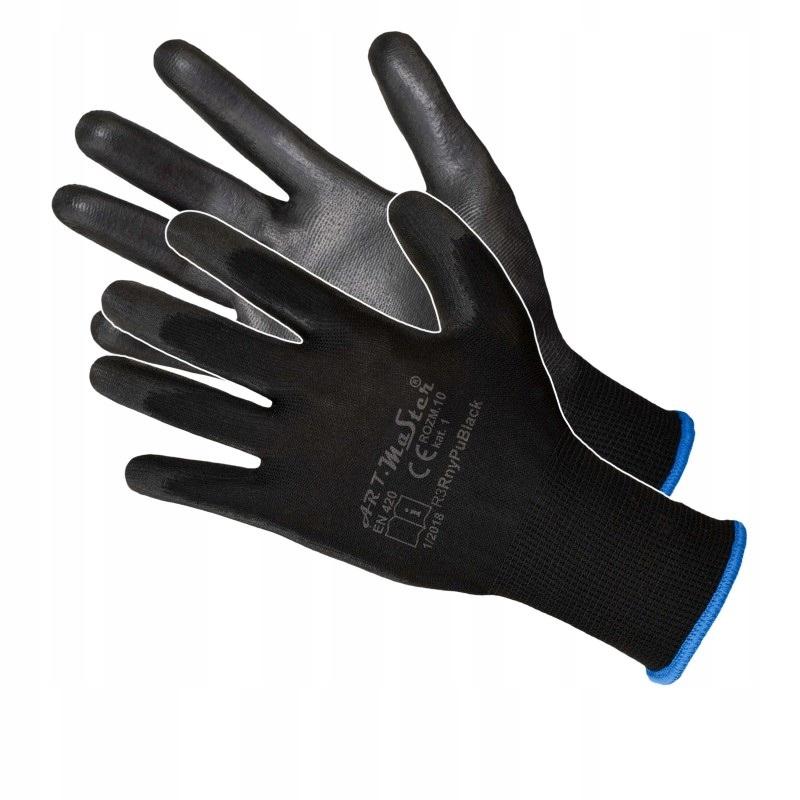 Rękawice robocze powlekane poliuretanem RnyPu r9