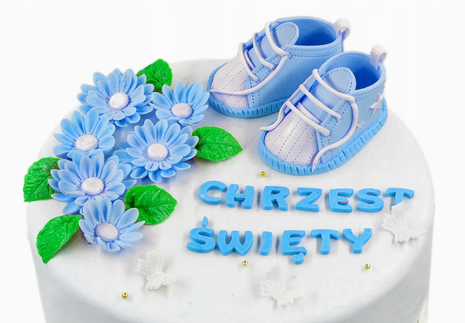 Dekorácie,domáce dekorácie na torty z množstva cukrovej trstiny - krst