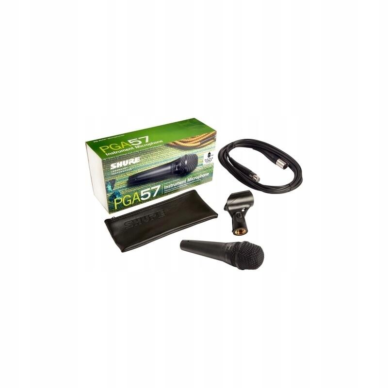 Shure PGA 57-XLR - inštrumentálny mikrofón