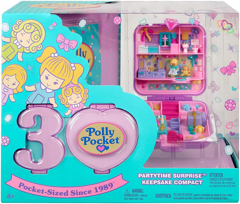 Polly Pocket je nostalgická figurína