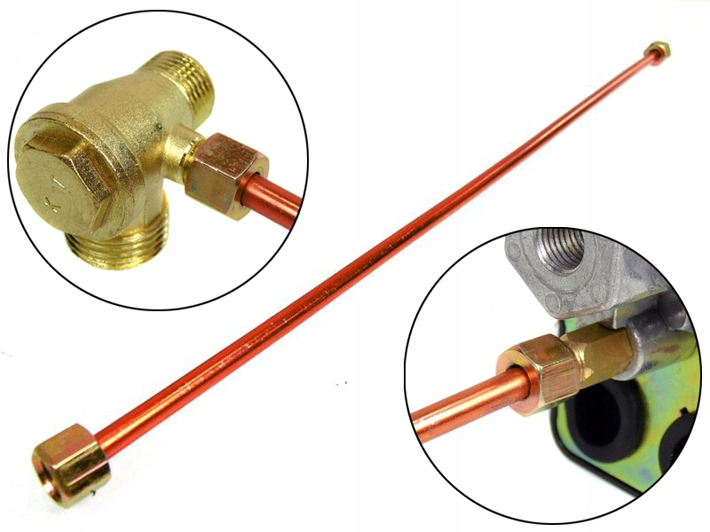 трубка вентилятора 20 для компрессор горловина пресостат