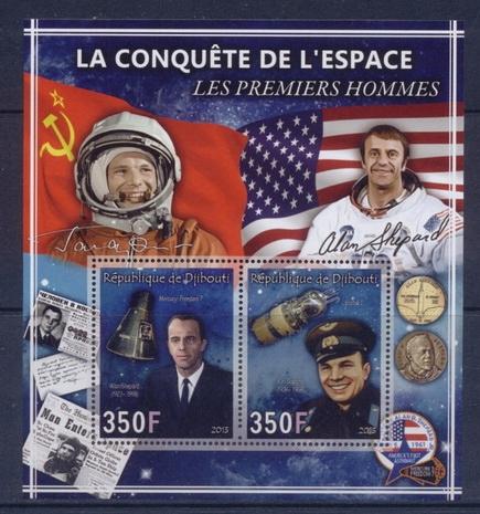 Купить Покорение космоса [3] Ю. Гагарин, А. Шепард #DJI1325 на Otpravka - цены и фото - доставка из Польши и стран Европы в Украину.