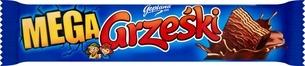 Купить Wafelek GRZEŚKI МЕГА в шоколаде 48 г 32 шт на Otpravka - цены и фото - доставка из Польши и стран Европы в Украину.