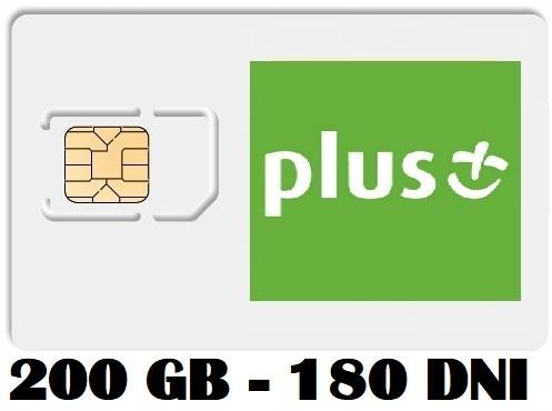 Item PLUS INTERNET ON CARD iPLUS 200 GB 3G/LTE FV