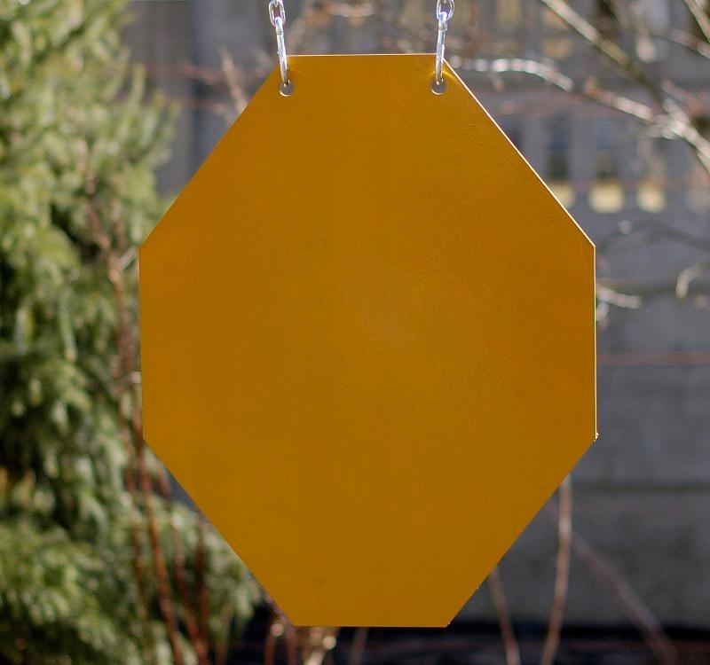 Kovový disk ocele Gong cieľ poper kovov 3