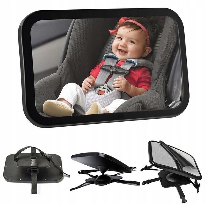 Letné zrkadlo pre pozorovanie dieťaťa v aute