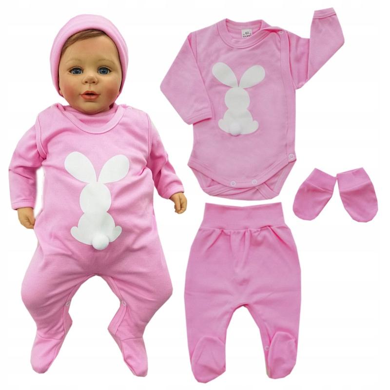 Príležitosť!!! Novorodencov dojčiat 6 elem. 68 cm, Veľkonočný Zajačik