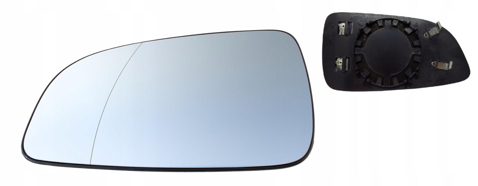 opel astra h iii вклад стекло зеркала с подогревом l
