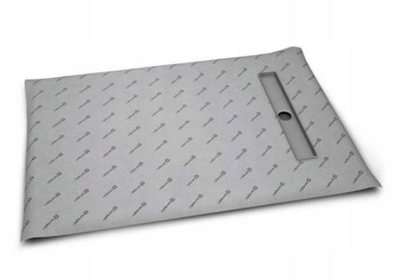 Kachľová sprchová vanička 100x80 výstup 55 dlaždíc 8-12
