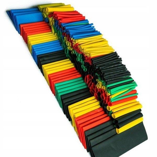 Набор 164 термоусадочных трубок цвет 1 мм до 14 мм