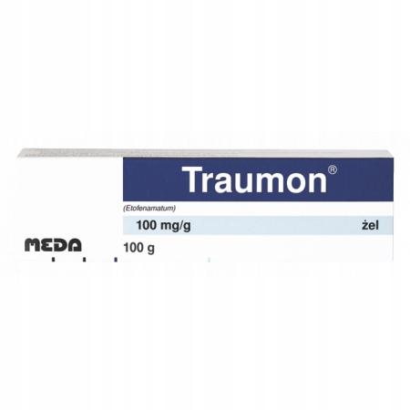 Купить Traumon Gel 10% Этофенемат от боли / воспаления 100 г на Otpravka - цены и фото - доставка из Польши и стран Европы в Украину.