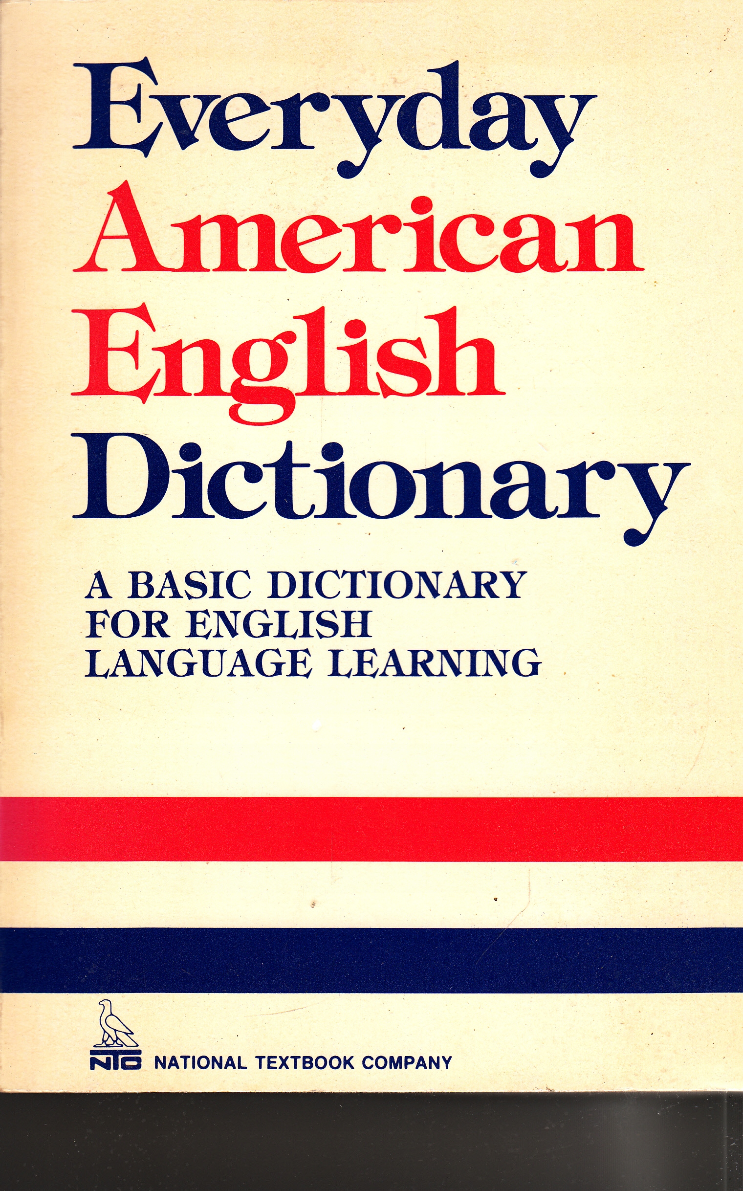 Item Everyday american english dictionary