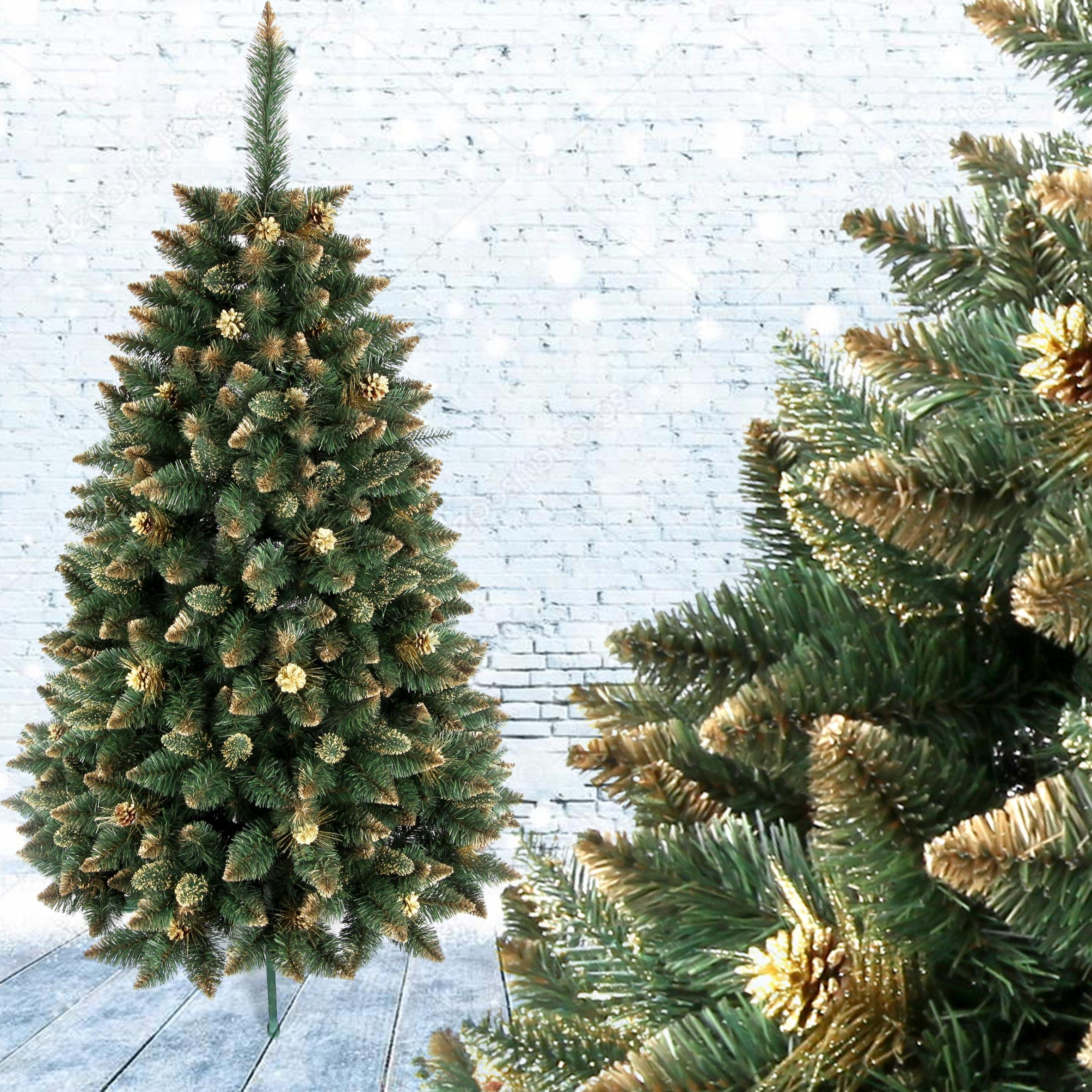 Umelá borovica zlatá 180 cm
