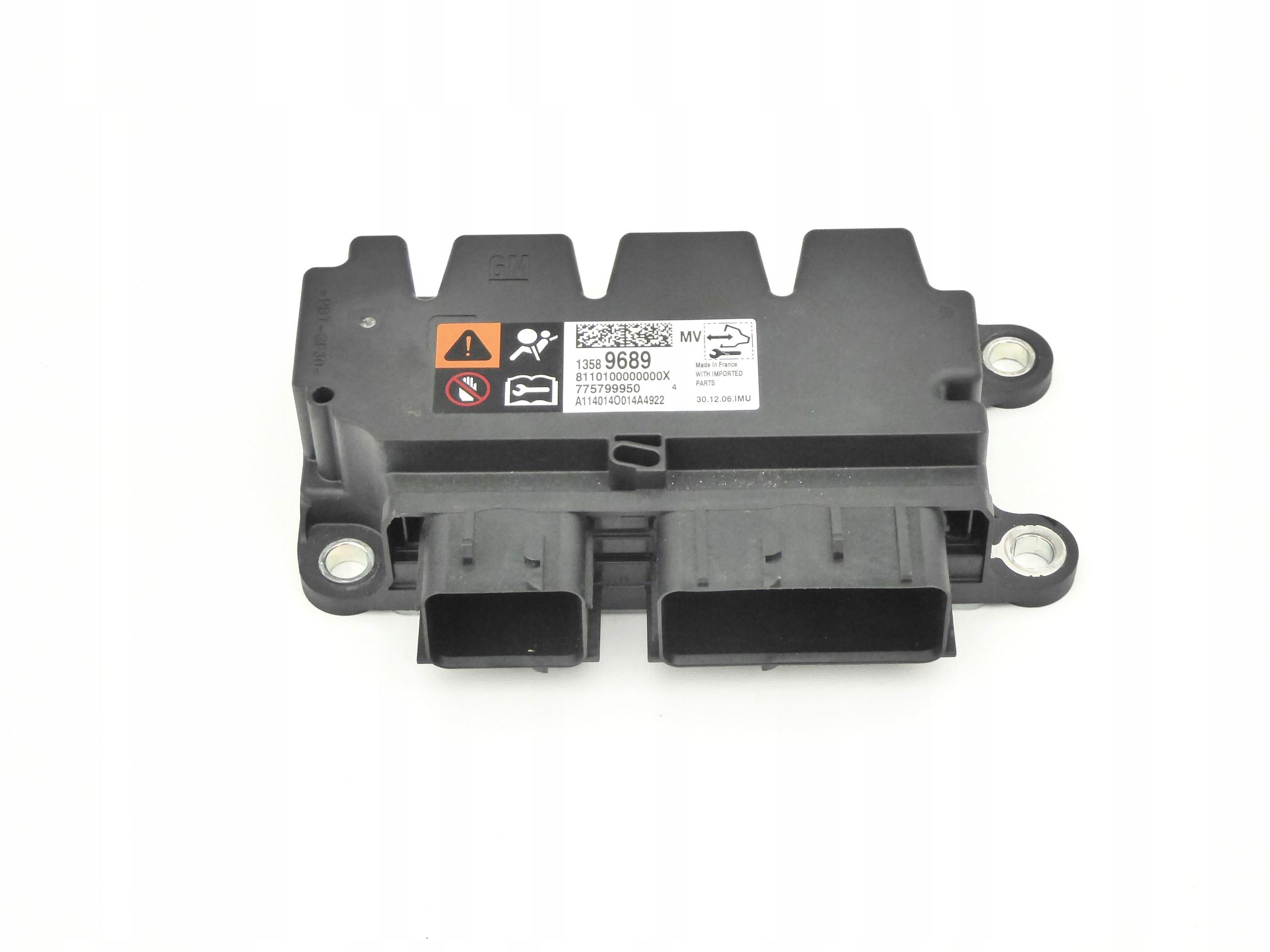 сенсор модуль подушек airbag opel meriva b