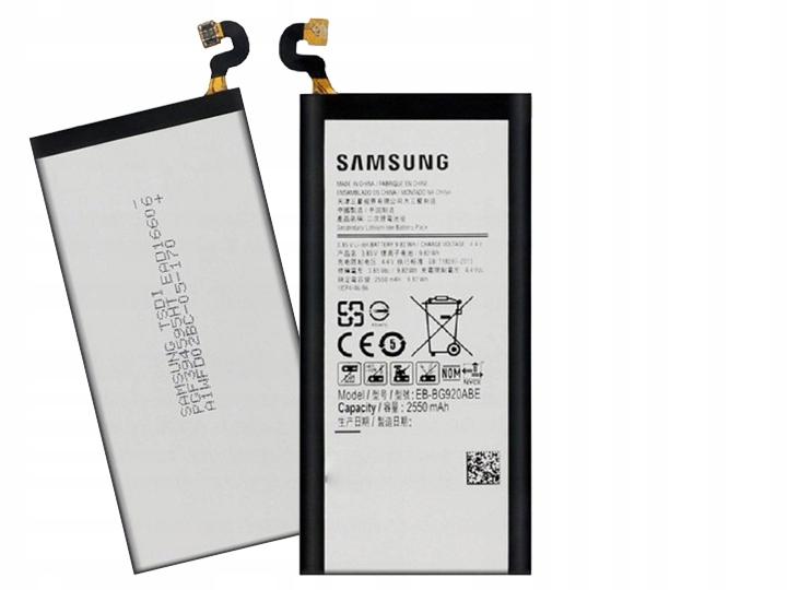 Oryginalna Bateria Samsung EB-BG920ABE Galaxy S6