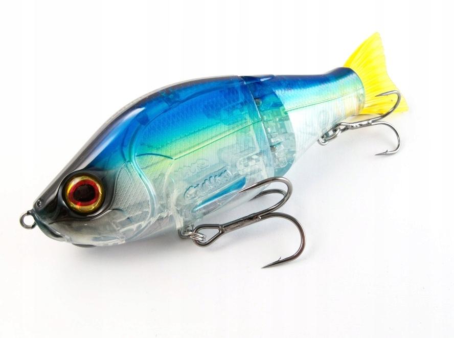 воблер gunki scunner 135 s твин - lightning синий
