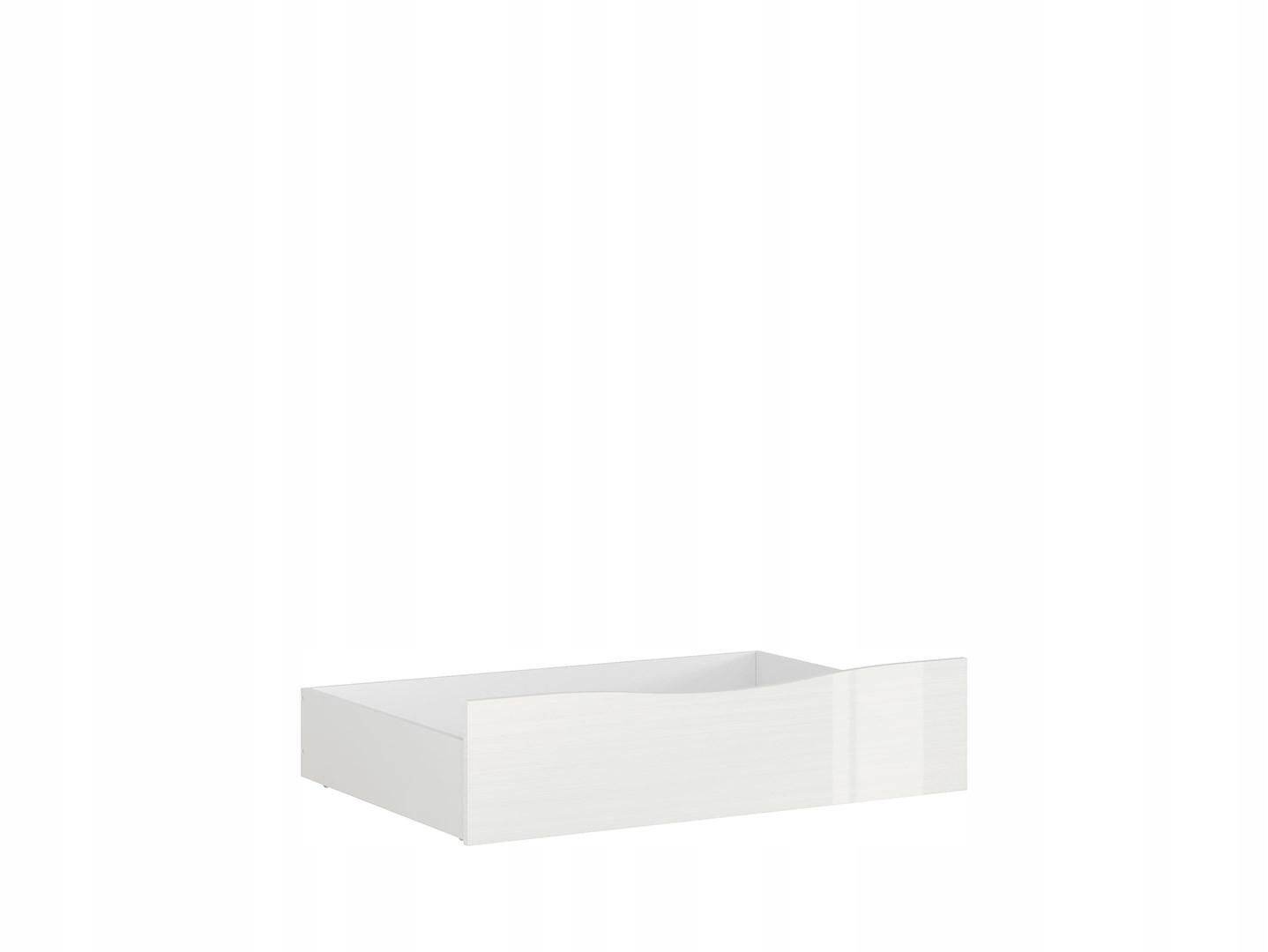 Купить Ящик под кровать глянцевый белый 98 см ПОРИ BRW на Otpravka - цены и фото - доставка из Польши и стран Европы в Украину.