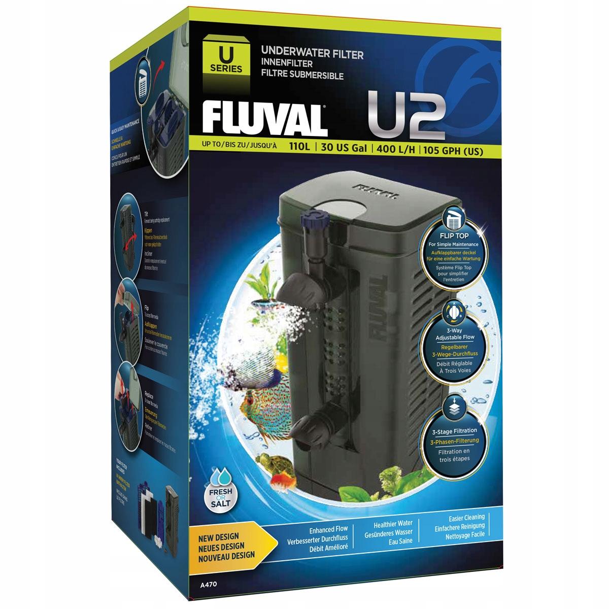 Внутренний фильтр HAGEN FLUVAL U2 для аквариума до 110 л